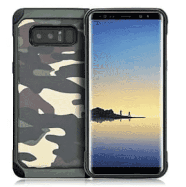 Camo Defender Case For Samsung Galaxy Note 8 - Multicolour
