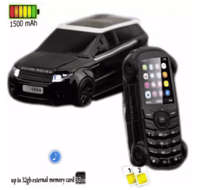 SQ Professional S100 Car Mobile Power Bank Phone - Dual Sim - 15000mAh