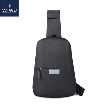 WIWU Fashion Crossbody Bag Waterproof Chest Bag for iPad 9.7 School Bags Female Laptop Messenger for iPad Shoulder Backpack