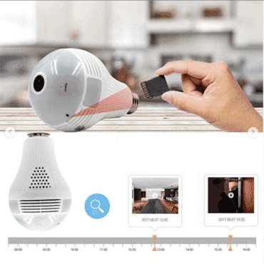 360 Wifi Mini Camera Espia Kamera Security Home CCTV Surveillance Action Small IP Camara Lampada Micro Camera Video Camcorder