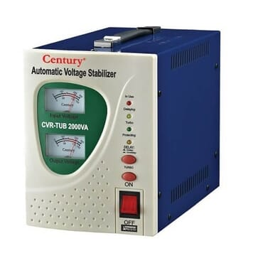 Century Automatic Voltage Stabilizer - 2000va