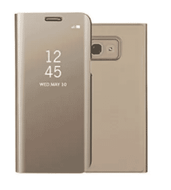 Universal Chef Flip Case For Samsung Galaxy A3 - 2017 - Gold