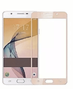 Universal Chef Full Tempered Glass For Gionee A1 - Gold