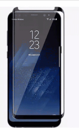 Universal Chef Screen Protector For Samsung Galaxy S8+ - Black