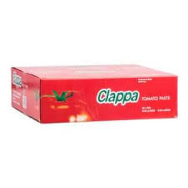 Clappa Tin Tomatoes (400g) in Carton