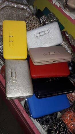 Classy Female wallet/purse with phones