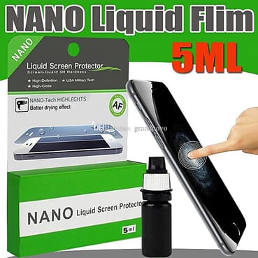 Nano Liquid Screen Protector Broad Hi -Tech 9H Screen Protector For Phones / Curved Screens / Tablets / Watches 5ml