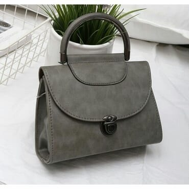 Crossbody Square Pu Leather Small Retro Handbag