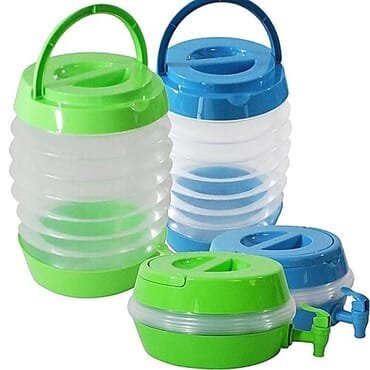 Collapsible Beverage Water Dispenser With Stand - 5.4L