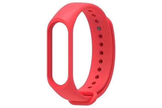 For Xiaomi Mi Band 4 Strap Silicone Wine Red Pink Replacement Wristband Bracelet Watchband