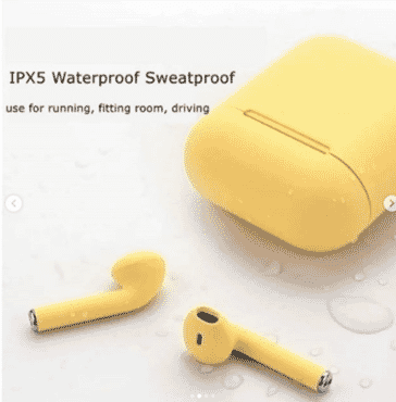 JlEXCLUSIVE COLORFUL i12 WIRELESS EARBUDS