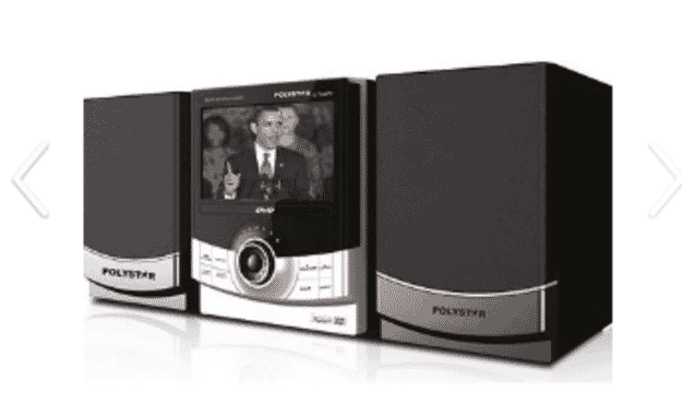 Polystar Combo DVD + TV - S-760TV