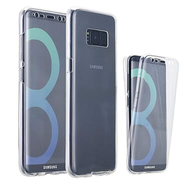 Samsung S8+ Plus Case 360 TPU Case Front And Back Phone Case Cover