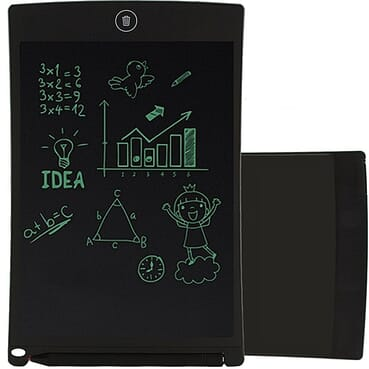 Generic 8.5-Inch Tablet LCD Drawing Handwriting Pad Board Kids Scrawl Drawing Tablet Pad-Black