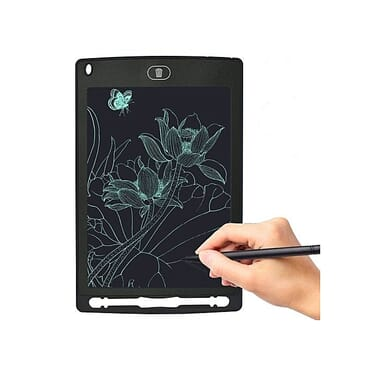 Generic 8.5-Inch Tablet LCD Drawing Handwriting Board Kids Scrawl Drawing Tablet For Home Office-Black