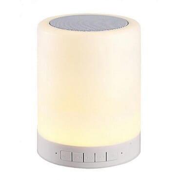 Generic Mini Bluetooth Speaker LED Touch Lamp