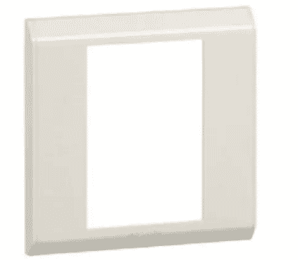 Legrand Cover Plate - 1 Gang - Vertical Beige - 617151