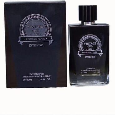 Crimson Pearl Vintage Oud Intense EDP Perfume For Men 100ml