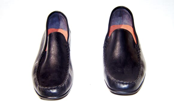 Splendour Men's Loafers Pure 100%  Leather Stylish Custom Made