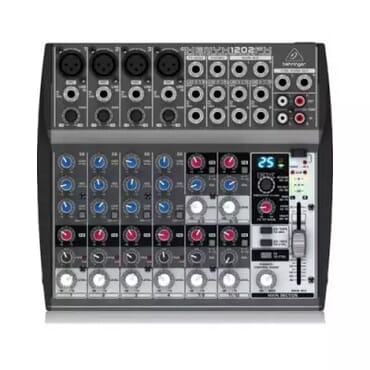 Behringer Xenyx 1202fx - 12 Channel Audio Mixer With Effects Processor