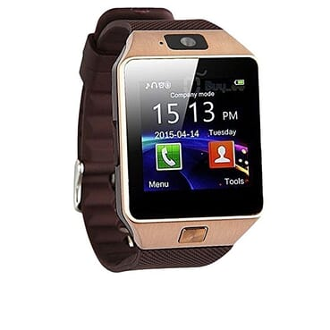 Universal Single SIM Card Smart Phone Watch - Rose Gold