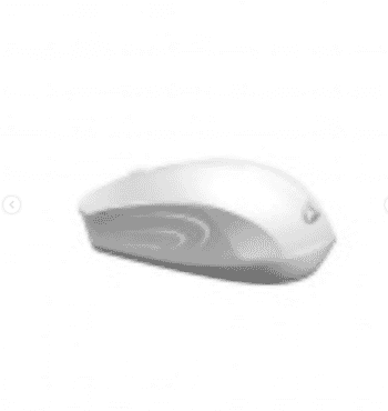 Mouse Loshine G50, Wireless, White - 663 Wireless mouse