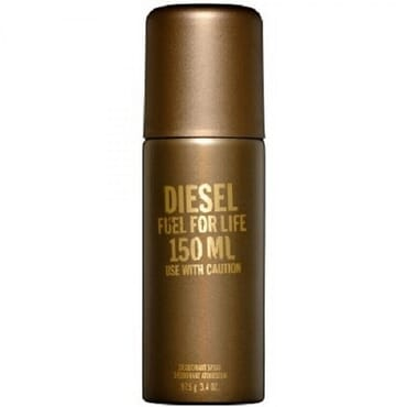 Diesel Fuel For Fife Deodorant Spray For Men 150ml