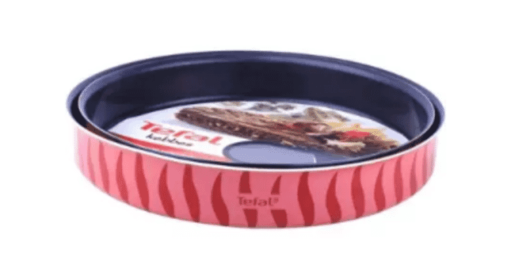 Tefal Kebbe Round Oven Dishes - 2Pcs - 28/30cm J1196685