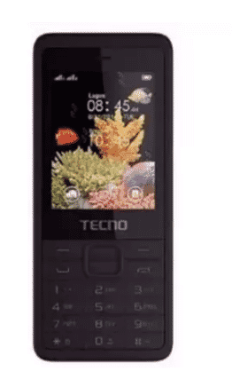 Tecno T350 Dual Sim Phone - Black