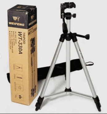 WT-330A camera tripod telescope 1.35M lightweight tripod, micro-single / DV / digital camera card General pod with tripod bag