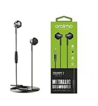 Oraimo Extra Bass Earphone - Trumpet Series