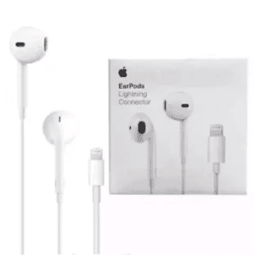 Earpod Earpiece With Lightning Connector - White