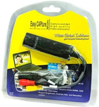 Easy Cap USB Video Capture Easycap