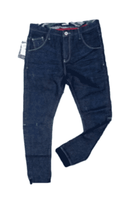 Elastic Men's Pencil Jeans
