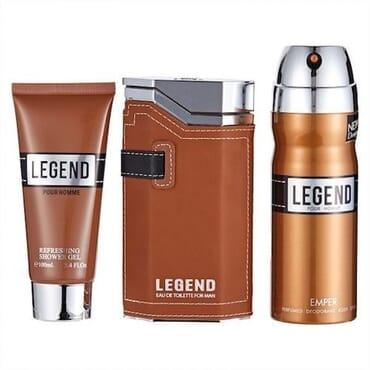 Emper Legend EDT 100ml Gift Set For Men