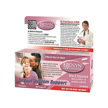 Bell New & Improved Erosyn For Female Sexual Energy!