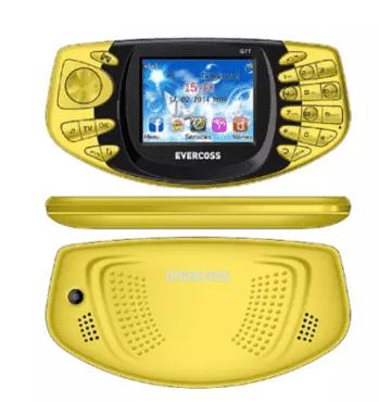 Evercoss G7t Tv Phone - Yellow
