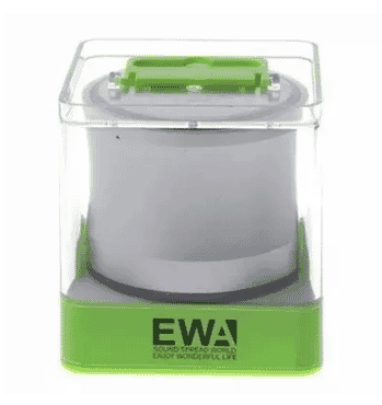 Ewa Warehouse A109 Wireless Bluetooth Mini Speaker - Silver
