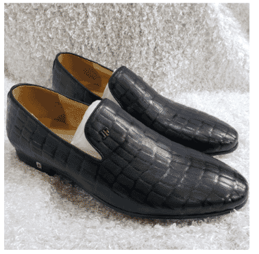 Men's Exotic Loafer Shoe + A Free Happy Socks