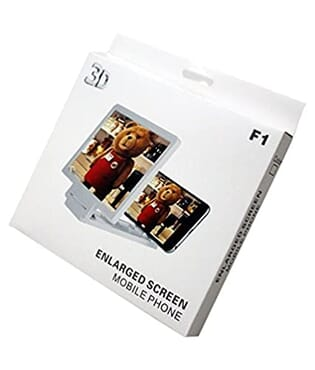 F1 Magnifying 3d Enlarged Screen Mobile Phone