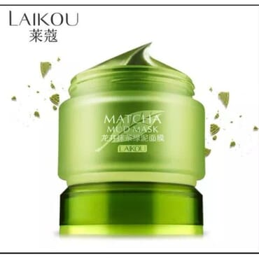 Green Tea Facial Matcha Mud Mask Mud Whitening Anti Ageing Anti Wrinkle Anti Acne Moisturizing Oil Control