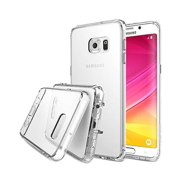 Generic Hybrid Crystal View Case for Samsung Galaxy S6 Edge