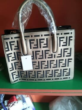 Fendi Leather Women Handbag