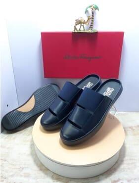 Salvatore Ferragamo Half shoe.