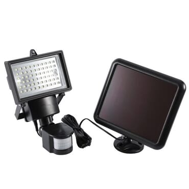 60 LED Solar Powered Motion Sensor Flood Light Garden Lamp