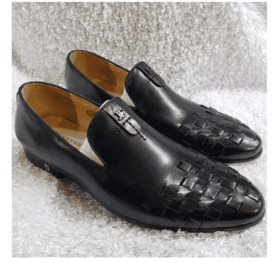Designer Men's Loafer Shoe + A Free Happy Socks
