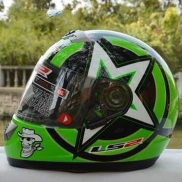 LS2 Full Face Helmet With ABS And Matte Black Color Motorcycle Helmet Moto Helmet Ls2 FF398 Motorbike