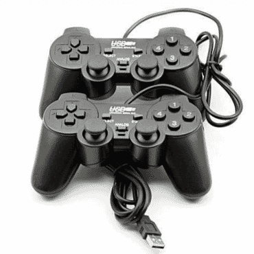 CR7 Double PC Controllers USB Game Pad