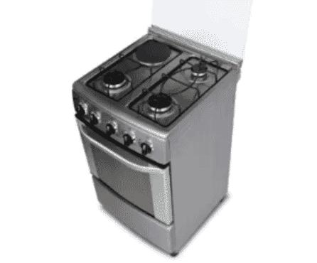QASA Gas Cooker - QSG-505E31 - 3 Burners + 1 Hot Plate