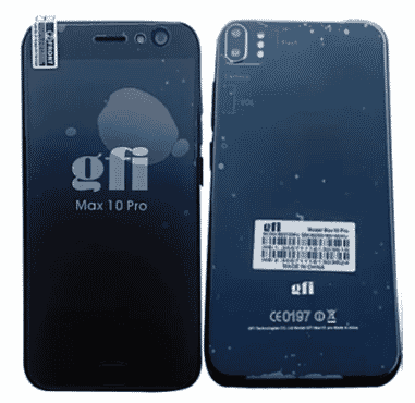 GFI Max 10 Pro - Finger Print Scanner + Free Gift
